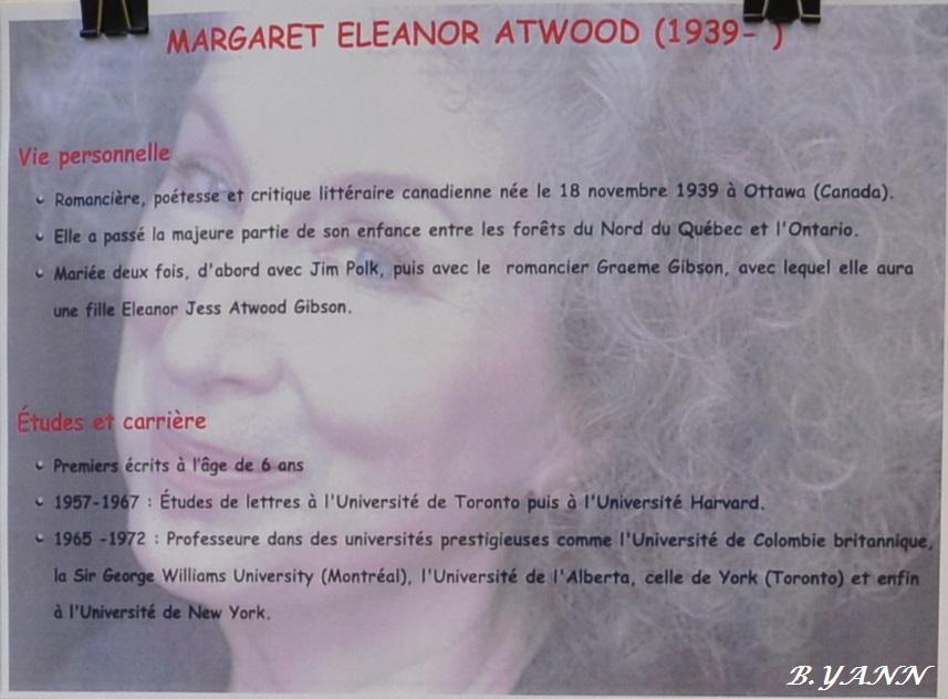 Margaret Atwood, reine de la dystopie