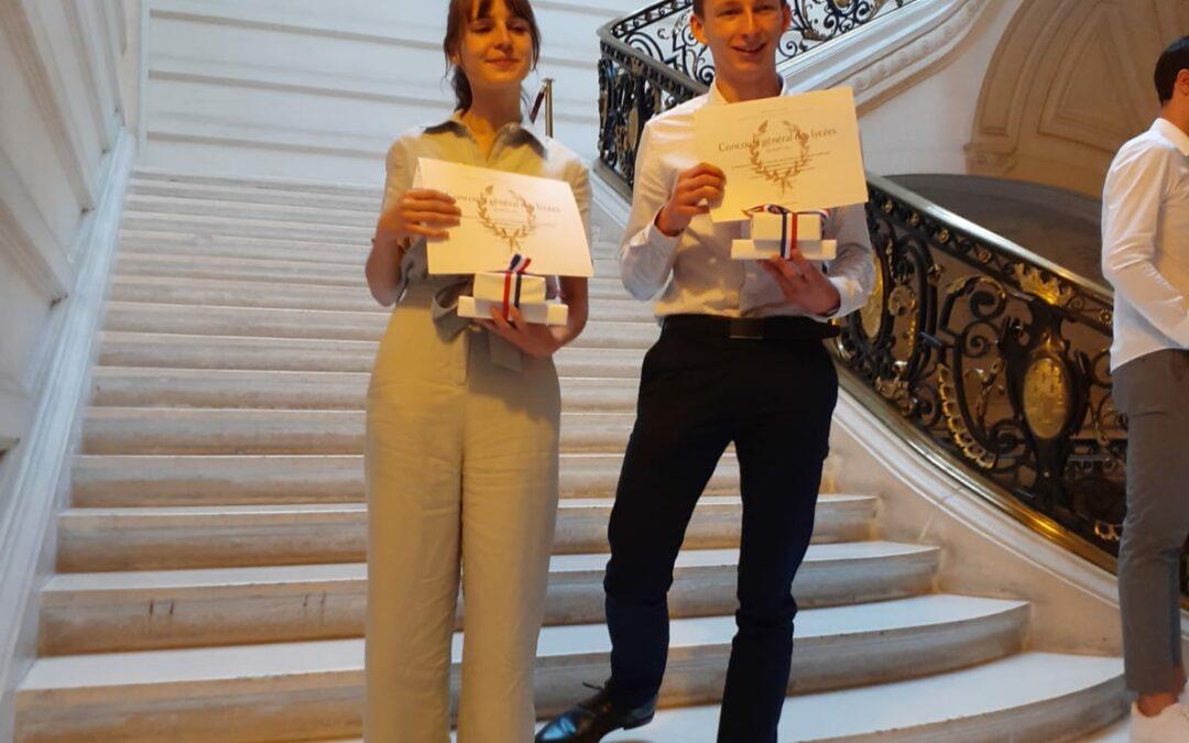Remise des prix du Concours Général à la Sorbonne